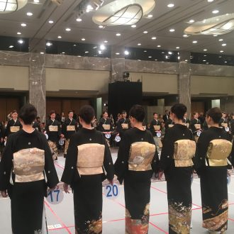 第14回 武市昌子杯 振袖・留袖・花嫁着付技術選手権