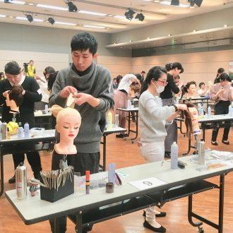 第19回山﨑伊久江杯ロングヘアコンテスト