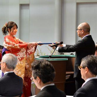 資生堂美容技術専門学校 2017年度卒業式