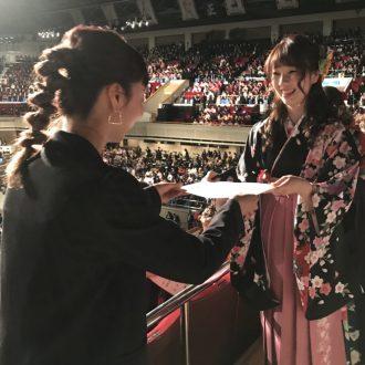 平成29年度卒業式/ベルエポック美容専門学校