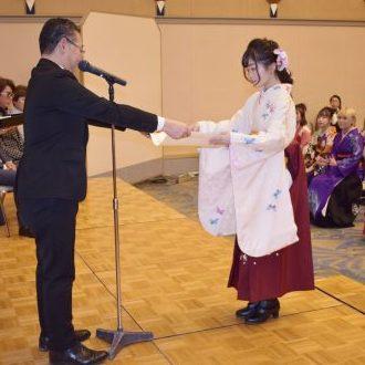 第131回卒業証書授与式  ヘアラルト阪神理容美容専...