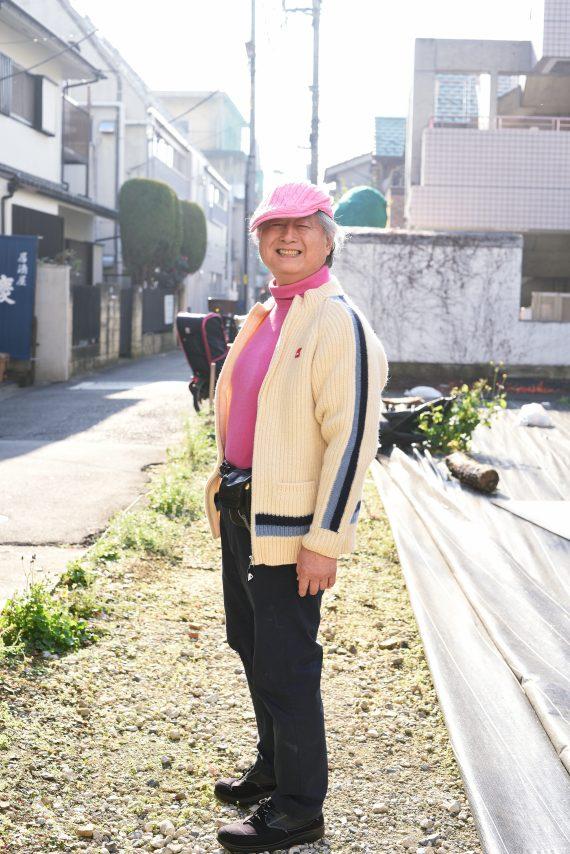 明るいキャラクターにピンクがお似合い